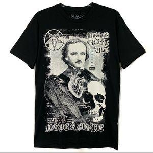 NWT Black craft cult never more T-shirt